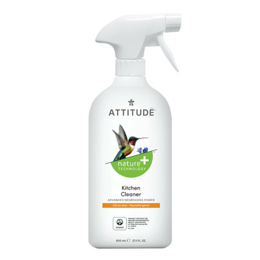 ATTITUDE Nature+ Kitchen Cleaner Citrus Zest