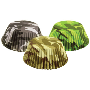 Camouflage Bake Cups