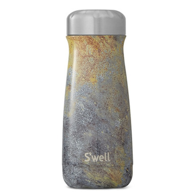 S\'well Traveler Stainless Steel Wide Mouth Bottle Golden Fury