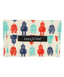 Keep Leaf Organic Cotton Baggie Medium Robot
