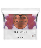L. Chlorine Free Ultra Thin Liners Regular Absorbency, Organic Cotton