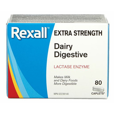 Rexall Extra Strength Dairy Digestive