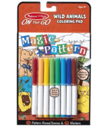 Melissa & Doug Magic Pattern Pad Wild Animals