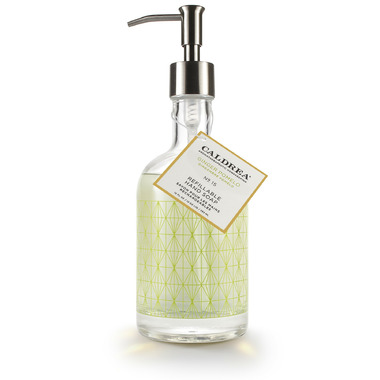 Caldrea Ginger Pomelo Refillable Glass Hand Soap