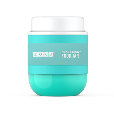 Zoku Stainless Steel Food Jar Teal