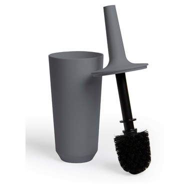 Umbra Corsa Toilet Brush Charcoal