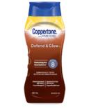 Coppertone Defend & Glow Sunscreen Lotion SPF 8