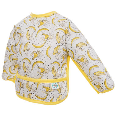 Bummis Sleeved Bib Bananas