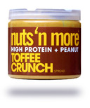 Nuts n Protein More Toffee Crunch Peanut Spread