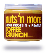 Nuts n More Toffee Crunch Peanut Butter High Protein Spread