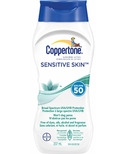 Coppertone Sensitive Skin Sunscreen Lotion SPF 50