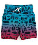 Appaman Mid Length Swim Trunks Sea Excursion