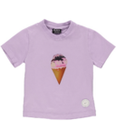 BIRDZ Children & Co. Lilac Ice Cream Tee
