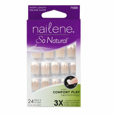 Nailene So Natural Artificial Nails Pink