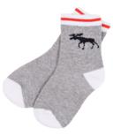 Hatley Little Blue House Kids Socks Grey Work Socks