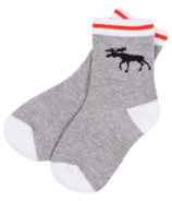 Hatley Grey Work Sock Kids Socks