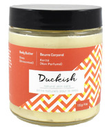 Duckish Natural Skin Care Unscented Shea Body Butter Small