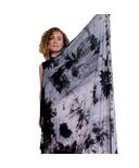 Samyoga Hand Dyed Savasana Blanket Scarf Blue & Grey