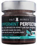 B&T Honey Peppermint Perfection Tea Infused Honey