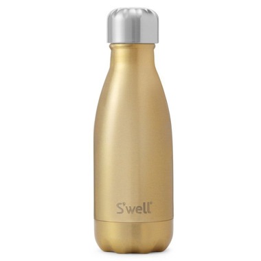 S\'well Glitter Collection Stainless Steel Water Bottle Sparkling Champagne