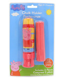Incredible Novelties Peppa Pig Jumbo Chalk & Chalk Holder