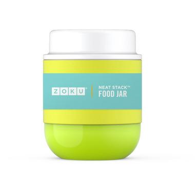 Zoku Stainless Steel Food Jar Lime Green