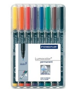 Staedtler Lumocolour Permanent Fine Point Markers