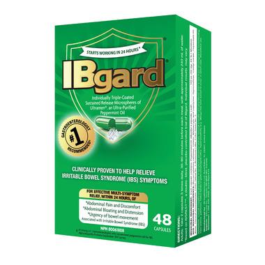 IBGARD Ultra-Purified Peppermint Oil 90mg