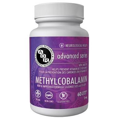 AOR Methylcobalamin High Dose Vitamin B12 5 mg