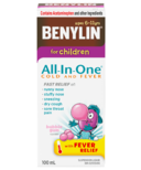 Benylin For Children All In One Cold & Fever Syrup
