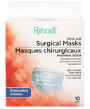 Rexall First Aid Disposable Surgical Masks