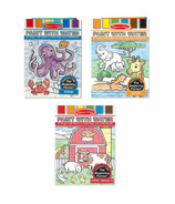 Melissa & Doug Paint with Water Bundle Ocean, Safari and Farm Animals