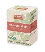 Rootalive Organic Moringa Ginger Tea
