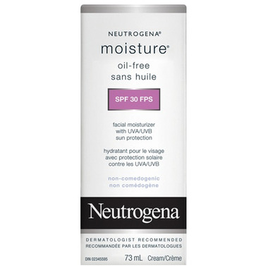 Neutrogena Moisture Oil-Free Facial Moisturizer SPF 30