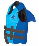 SwimWays Sea Squirts FINtastic Life Jacket Blue and Aqua