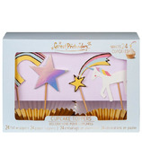 Great Pretenders Cupcake Party Toppers Unicorn