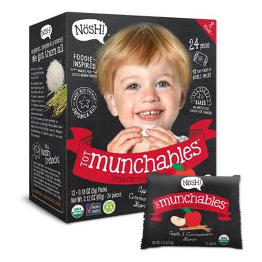 Nosh Tot Munchables Organic Rice Snacks