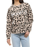 Brunette The Label Brunette Middle Crew Leopard