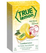 True Citrus True Lemon Crystallized Lemon Substitute Packets