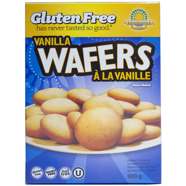 Kinnickinnic Vanilla Wafers
