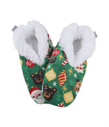 Hatley Women's Cozy Warm Slippers Holiday Ornaments