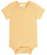 Kyte BABY Short Sleeve Bodysuit in Honey