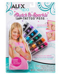 Alex Sketch & Sparkle Tattoo Pens