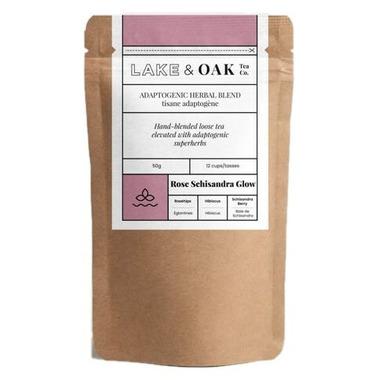Lake & Oak Tea Co. Rose Schisandra Glow Tea