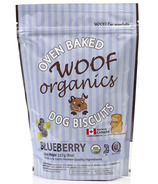 Woof Organics Oven Baked Biscuits Blueberry