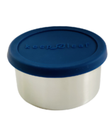 Keep Leaf Stainless Steel Food Container Small Navy