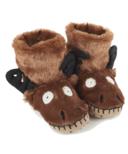 Hatley Kids Moose Slippers
