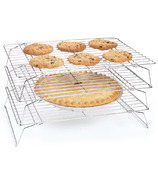 Fox Run 3-Tiered Stackable Chrome Cooling Rack