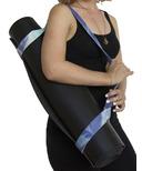 Samyoga Hand Dyed Yoga Mat Slings Sky Blue Sky