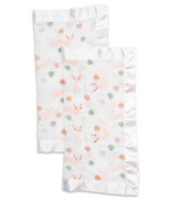 Lulujo Security Blankets Muslin Cotton Kitty
